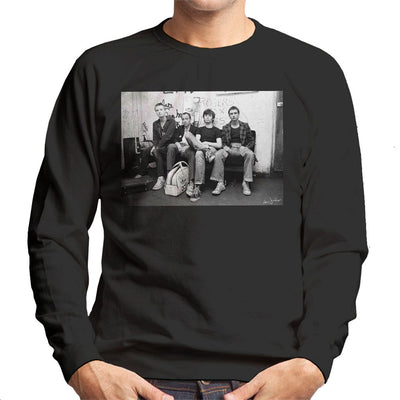 XTC Backstage 1977 Men's Sweatshirt - Don't Talk To Me About Heroes