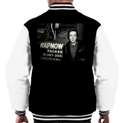 Joe Strummer The Clash Men's Varsity Jacket - Don't Talk To Me About Heroes