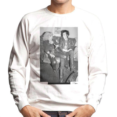 Sid Vicious And Nancy Spungen Hanging Out London 1978 Men's Sweatshirt - Don't Talk To Me About Heroes