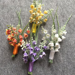 Groom Boutonniere Wedding Party - FabFunBride
