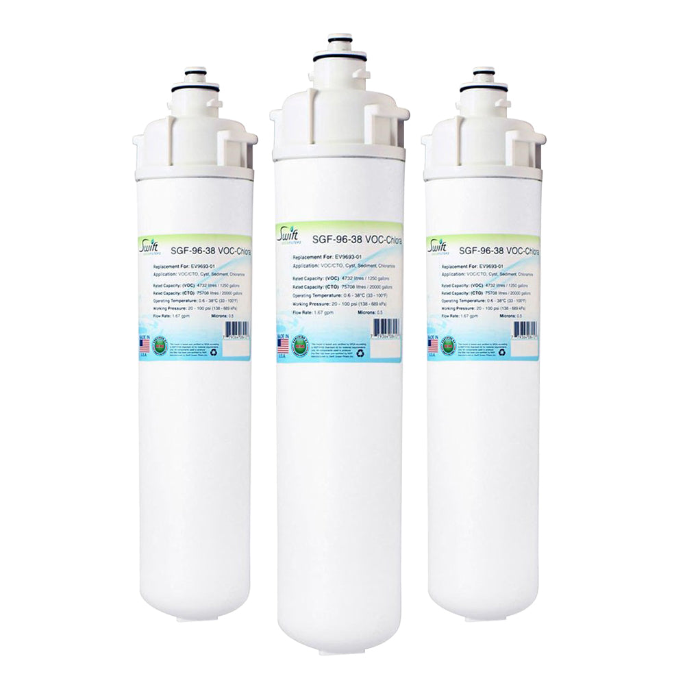 Everpure EV9693-01 Filter Replacement SGF-96-38 VOC-Chlora by Swift Green Filters