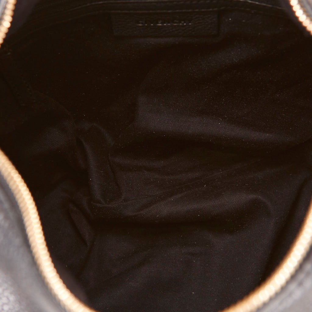 Grained Calf Leather Hobo Bag