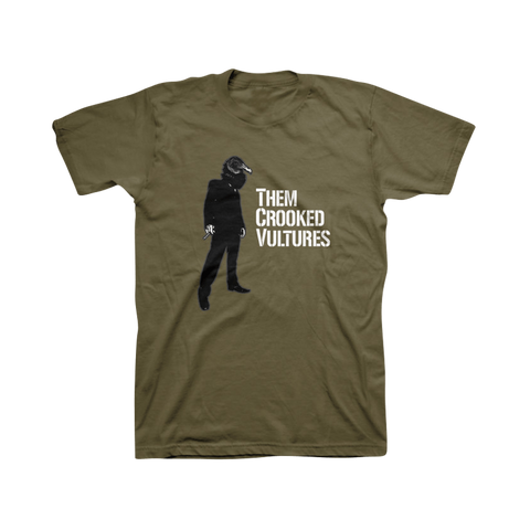 Smoking Unisex Tee - Them Crooked Vultures