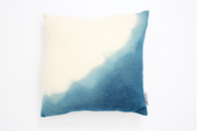 WILO Coussin en laine merinos tricotée / knitted wool cushion