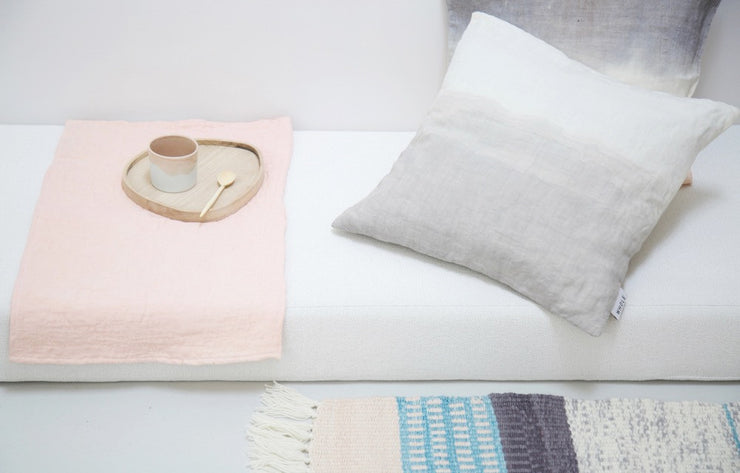 WOKI Grand coussin lin / Big linen cushion