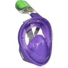 Original Full Face Snorkeling Mask Purple