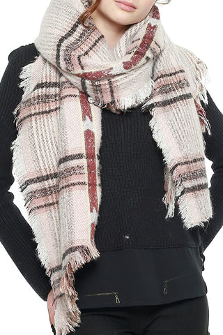MULTI LINED SCARF