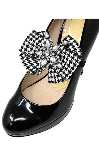 Fashion Bow Strap Shoe Accessory