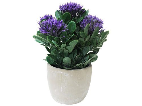 Faux Flowering Purple