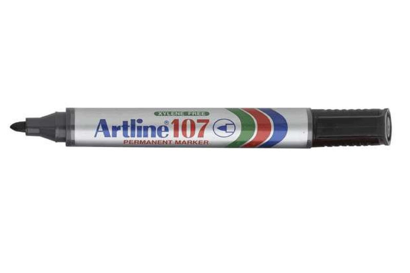 Artline 107 Easimark Marker Black