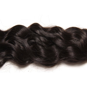 Thanks Giving Virgin Malaysian Natural Wave 3 Bundles, 100% Unprocessed Human Hair Weave Extensions 8 Inch