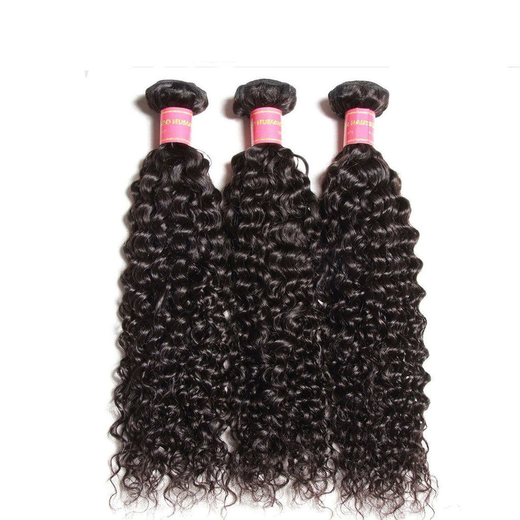 3 Bundles Virgin Malaysian Curly human Hair Weave Deals- Donmily Hair
