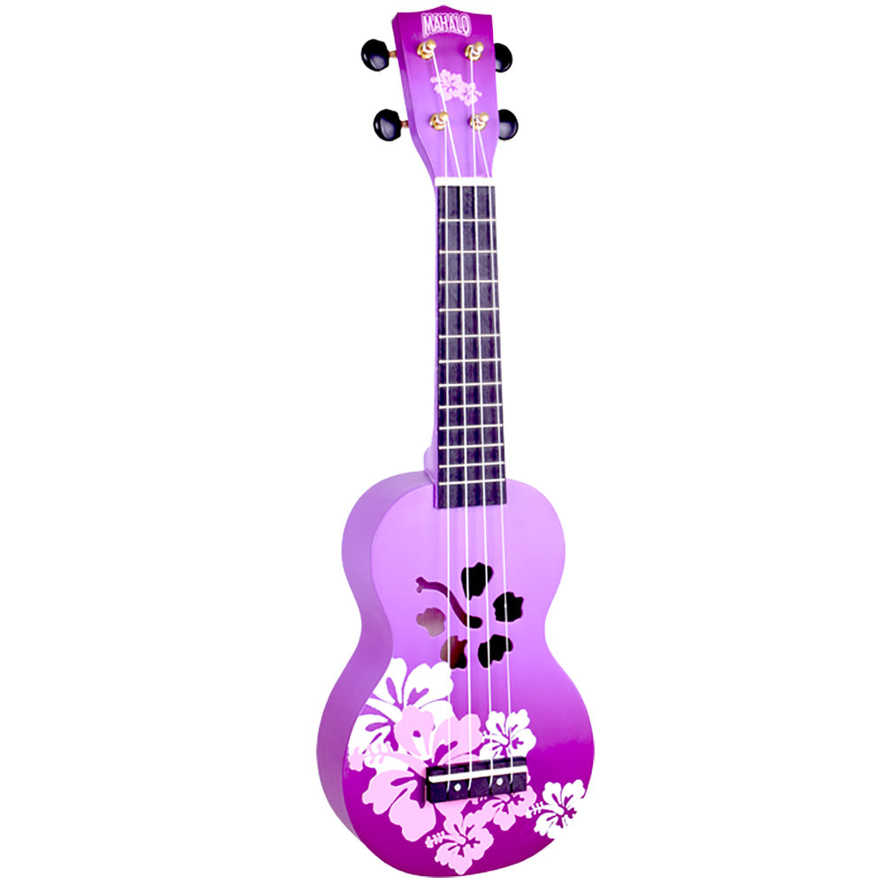 Mahalo MD1HBPPB - Designer Series Hibiscus Purple Burst