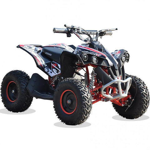 Renegade Race-X 36V 1100W Output Electric Kids Quad Bike - Red