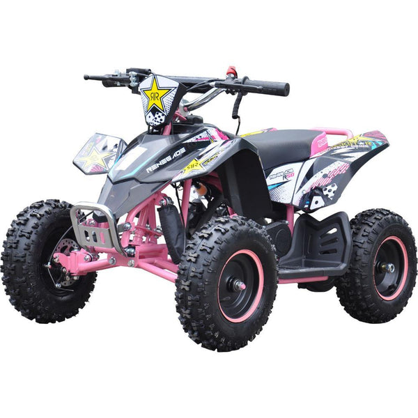 Renegade LT50A Kids Petrol Quad Bike - Pink