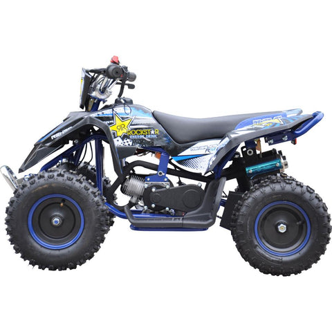 Renegade LT50A Kids Petrol Quad Bike - Blue 2