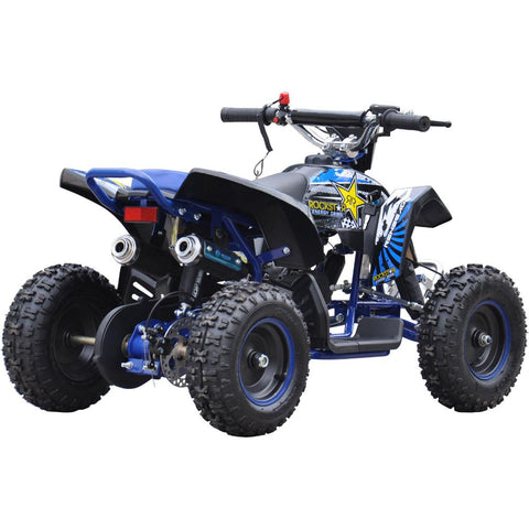 Renegade LT50A Kids Petrol Quad Bike - Blue 3