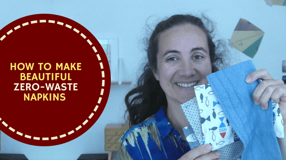 How To Make Beautiful Zero-Waste Napkins