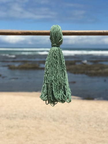 Hand Spun High Atlas Wool, 2-ply, Green 111