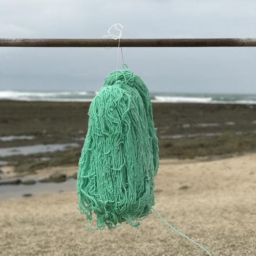 Hand Spun Middle Atlas Wool, Singles, Green 9A MM XG UU YB