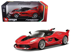 Ferrari FXX-K #10 Red 1/18 Diecast Model Car by Bburago