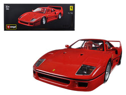 Ferrari F40 Red Original Series 1/18 Diecast Model Car by Bburago
