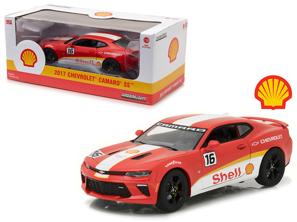 "2017 Chevrolet Camaro SS ""Shell Oil"" Racing 1/24 Diecast Model Car by Greenlight"