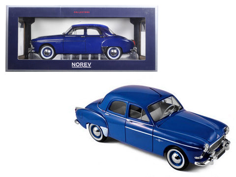 1959 Renault Fregate Capri Blue 1/18 Diecast Model Car by Norev