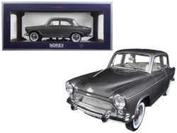 1962 Simca Aronde Montlhery Special Grey Metallic 1/18 Diecast Model Car by Norev