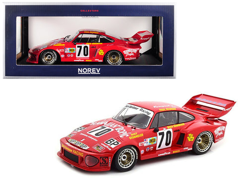 "Porsche 935 #70 Paul Newman/ Dick Barbour/ Rolf Stommelen ""Hawaiian Tropic"" 2nd Place Le Mans France 24 Hours (1979) 1/18 Diecast Model Car by Norev"