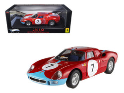 Ferrari 250 LM 12 Hours of Reims 1964 #7 Elite Edition 1/18 Diecast Model Car by Hotwheels
