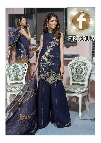 Firdous Inspired Lawn Design F98