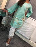 Kurta Cotton Sequins Design KC31