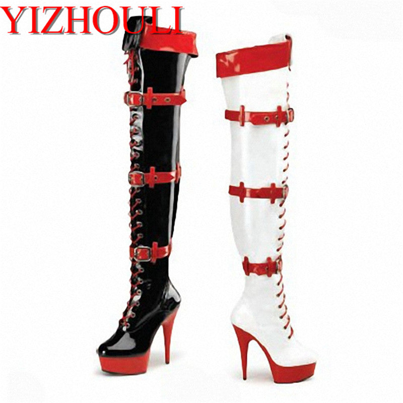 Sexy Clubbing Platforms Stiletto Over the Knee Boots