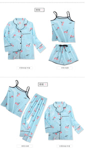 7 PCS womens pajamas set