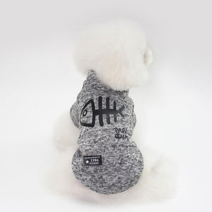 Thickening dog winter coat Foxy Beauty Gray / L