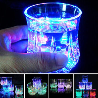 Liquid Activated Multicolor LED Glasses