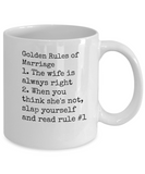 The Golden Rule of Marriage