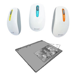 Zcan+ Scanner Mouse + Small & Large Scan Pad