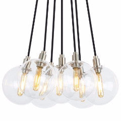 Tech Lighting Gambit 7 Light LED Chandelier    formplusfunction