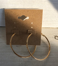 Gold Small Hoops