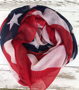 All American Flag Scarf