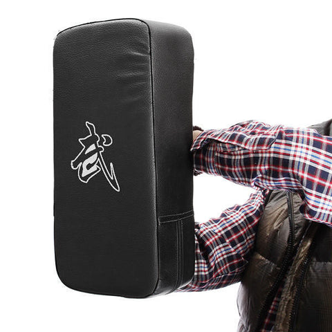 Fitness Taekwondo MMA Boxing Gloves Kicking Punching Pad PU Leather Training