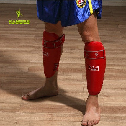 MMA Leg Guards Muay Thai Kick boxing Leggings Shin Pads Ankle Guards Leg Supports Protective Guards