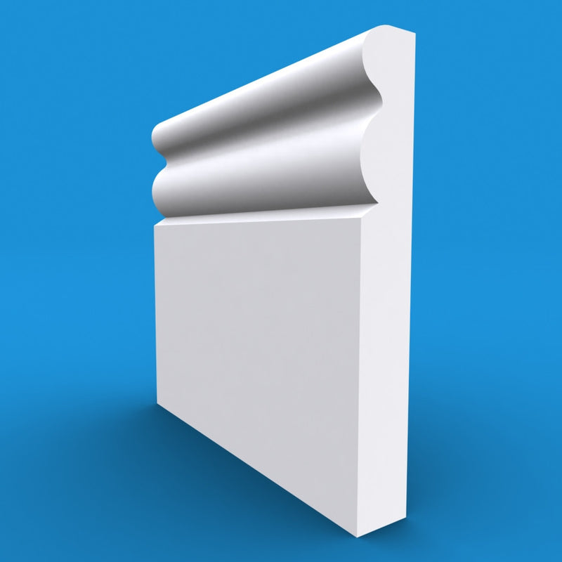 Ogee 3 MDF Skirting Board