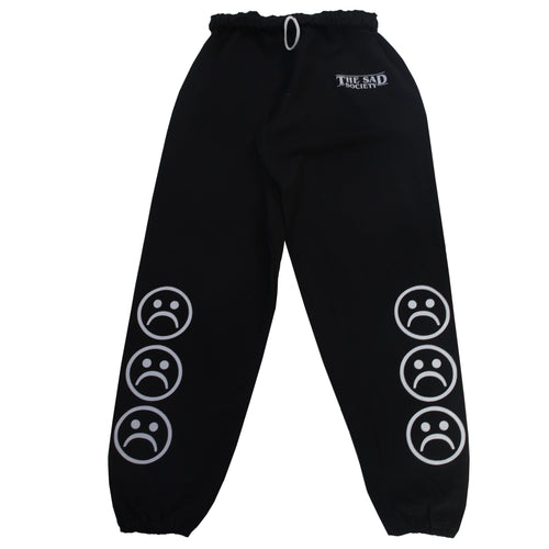 The Sad Society Black Sweat Pants