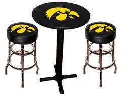 Iowa Hawkeyes Varsity Pub Table & Bar Stool Set