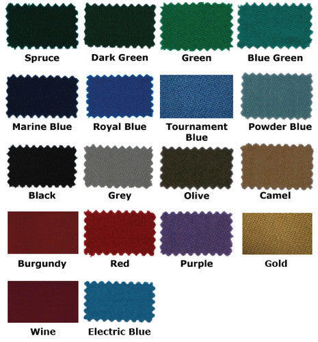 High Speed Worsted Wool Pool Table Amp Billiards Cloth