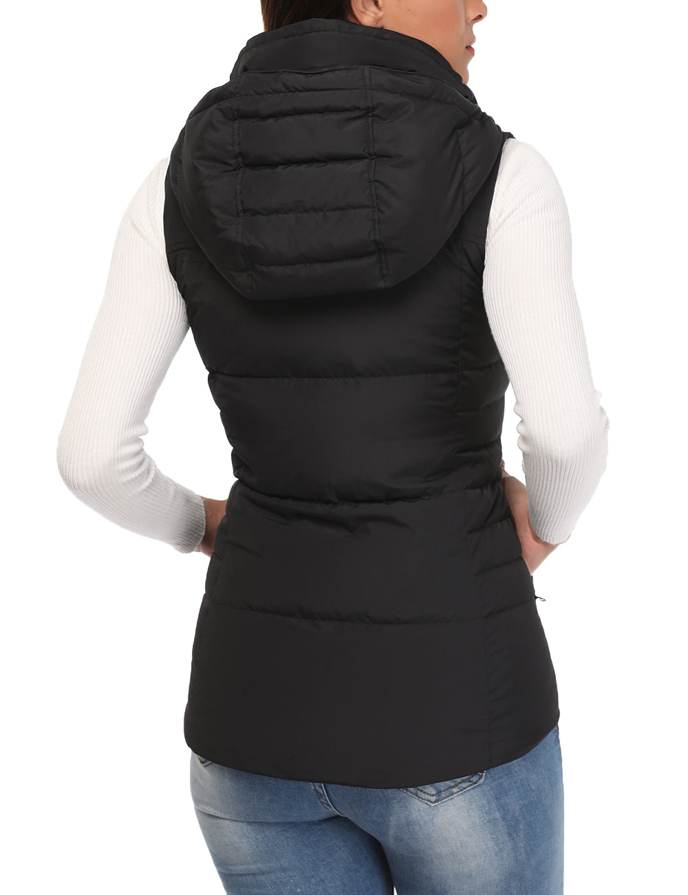 (Open-box) Women Heated Down Vest - Extra Slim Fit - ORORO