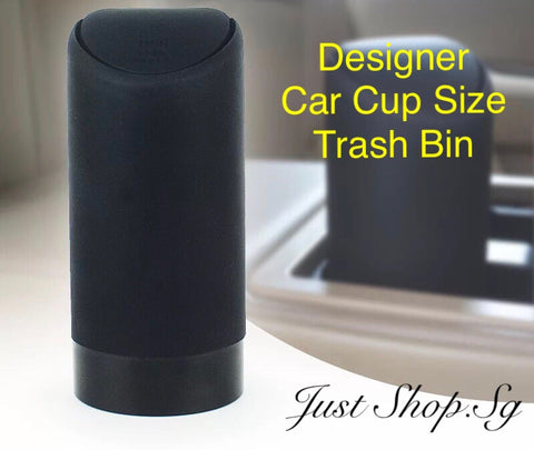 Designer Car Cup Size Trash Bin - Just Shop.Sg
